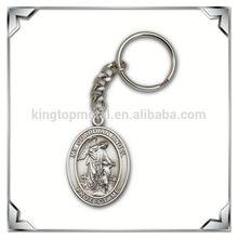 custom virgin mary metal keychain