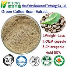 perdita di peso della polvere robusta chicchi di caffè verde