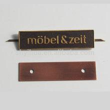 brand name plates/ equipment name plate/furniture name plate
