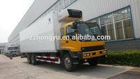 8-10tons carrier meat hook refrigerator truck/refrigerator freezer truck for sale
