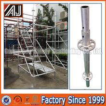 ความปลอดภัยมากที่สุดหนักก่อสร้างท่อนั่งร้านringlockmultifuctional