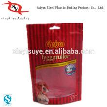 China Manufacturer Custom printed plastic dog pet food packaging bag