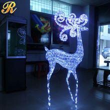 la promoción más reciente led decoración de navidad de hielo reutilizables moldes de la escultura
