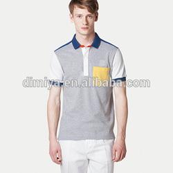 erkek gri model polo gömlek sarı cepler
