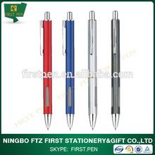 office&school use retractable metal ball pen