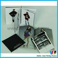 Impresión de folletos con brillo UV, hermoso catálogo de productos y equipos