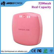 Shenzhen Ambopower small bread 5v 4400mah/5200 mah mobile power bank for tablet