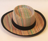 colombian paper straw fashion farmer summer hat
