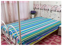 High quality 100% cotton stripe bedding fabric material for Hotel