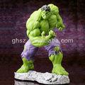 Atacado boa qualidade famosa imagem dos desenhos animados de plástico hulk modelo de brinquedo, sexy o incrível hulk