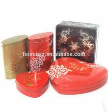 2014 exqusite public sorts chocolates candy tin box