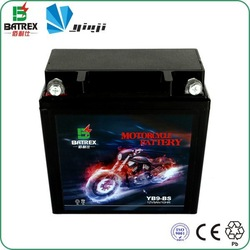 Maintenance Free Dry Cell Battery For 12N9-BS, 12V Dry Cell Rechargeable Battery