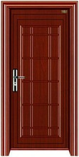 durable High quality interior entrance iron security door modern manufacturer