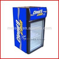 Mini Glass Door Fridge, Countertop Display Cooler