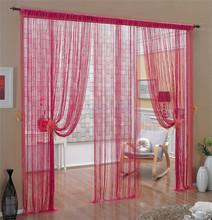 Modern String curtain with lurex