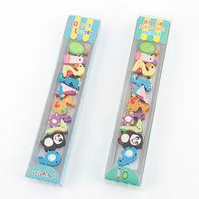 Licheng EB1626 School Stationery Item, Promotional Cute Animal Shaped Erasers