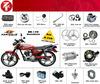Wholesale!! BERA BR150 Jaguar150 Motorcycle Parts China Supplier for South America Venezuela