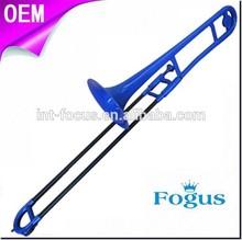 di plastica colorata trombone