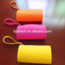 Silicone rubber case for pencil plastic pencil case and zipper student pencil case