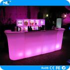 Restaurant led light bar counter modern design