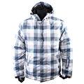Mais novo inverno preenchimento clássico dos homens ao ar livre jaqueta / roupas de esqui com capuz