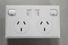 1/2 usb port australian standard electrical switches