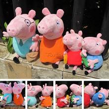 Wholesale Cartoon Peppa Pig Plush toy Day peppa Soft Toy Stuffed Plush doll