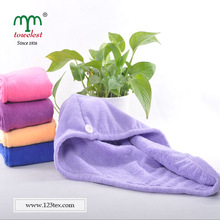 2014 new products top selling absorbency microfiber spa head wrap