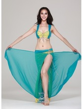 2pcs new belly costume costume sexy arab belly dance wear