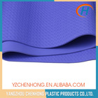 Anti slip waterproof durable tpe exercise gym mat with logo printed