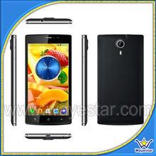 "Slim 5.5"" android smart phone MTK6582 Quad Core 3G chipset smartphone V6"