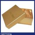 grado superior especial hecho a mano de papel cajas de cartón para el embalaje del perfume