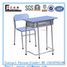 School Desk Chair Wooden Student Melamine Chair with Desk Top