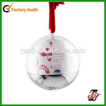 "Light Up Photo Snow Globe Ornament, Holds a 2 x 1.75"" Photo."
