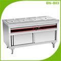 Commerciale a buffet caldo più caldo, scaldino elettrico cibo, buffet server più caldi