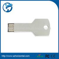 Mini New Cool Metal Key Shape USB 2.0 Memory Stick Flash pen Drive 8GB Silver