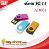 Bulk mini usb flash drive mini swivel usb flash drive from 1gb to 32gb