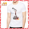 21s/32s/40s combed cotton high quality scoop neck t shirt for men OEM soft dry fit t-shirt