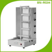 BN-RG04 4 burners stainless steel doner kebab machine