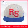 custom 5 panel flat brim baseball cap oem sports golf hip hop promotion cap/hat with applique embroidery logo