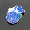 2014 cute magnet golf hat clips with ball marker for sale