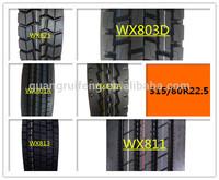 315/80R22.5 pneus de camion