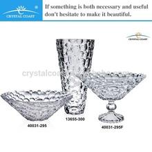 glass bohemia decorations wedding lead crystal vase