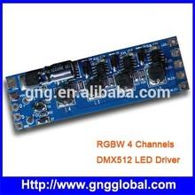 RGBW dmx decoder;RGBW DMX512 decoder;LED RGB dmx driver