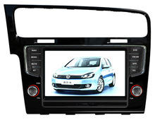 top quality 7 inch in dash placement car radio dvd gps for vw GOLF 7