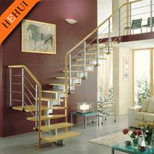 stainless steel wood stair railing bracket/balcony staircase railing height/stainless steel railing design C061
