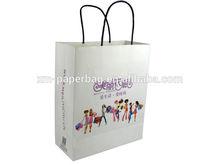 Unique design luxury paper shopping bag wholesale