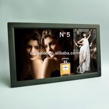 Desktop or wall mount 19 inch large size digital photo frame