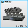 Megapixel IP Poe Camera nvr kit 4ch 720p nvr system home security