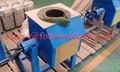 indução da freqüência média forno de fusão para 110kw aço fornalha de derretimento